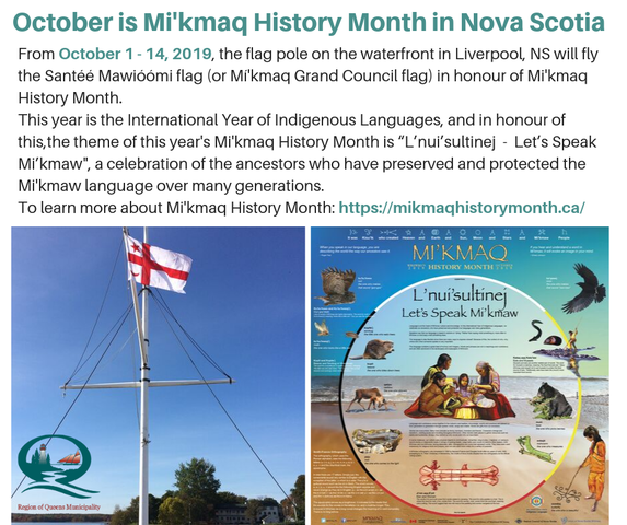 2019 Mikmaq History Month