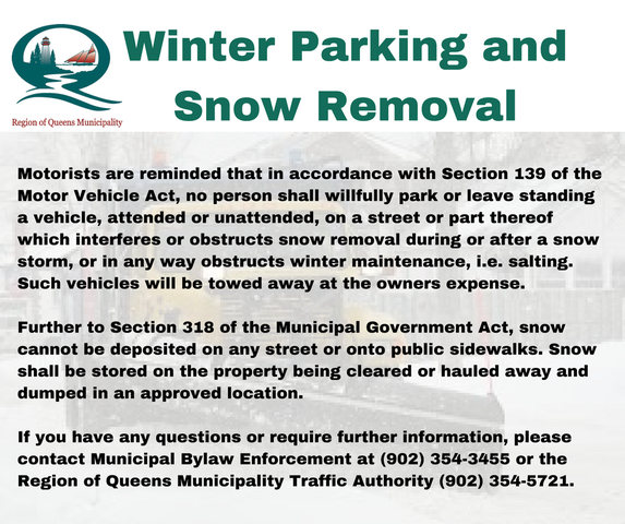 Winter Parking and Snow Removal3