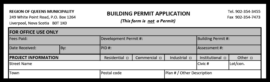 Image Planning Building Permit
