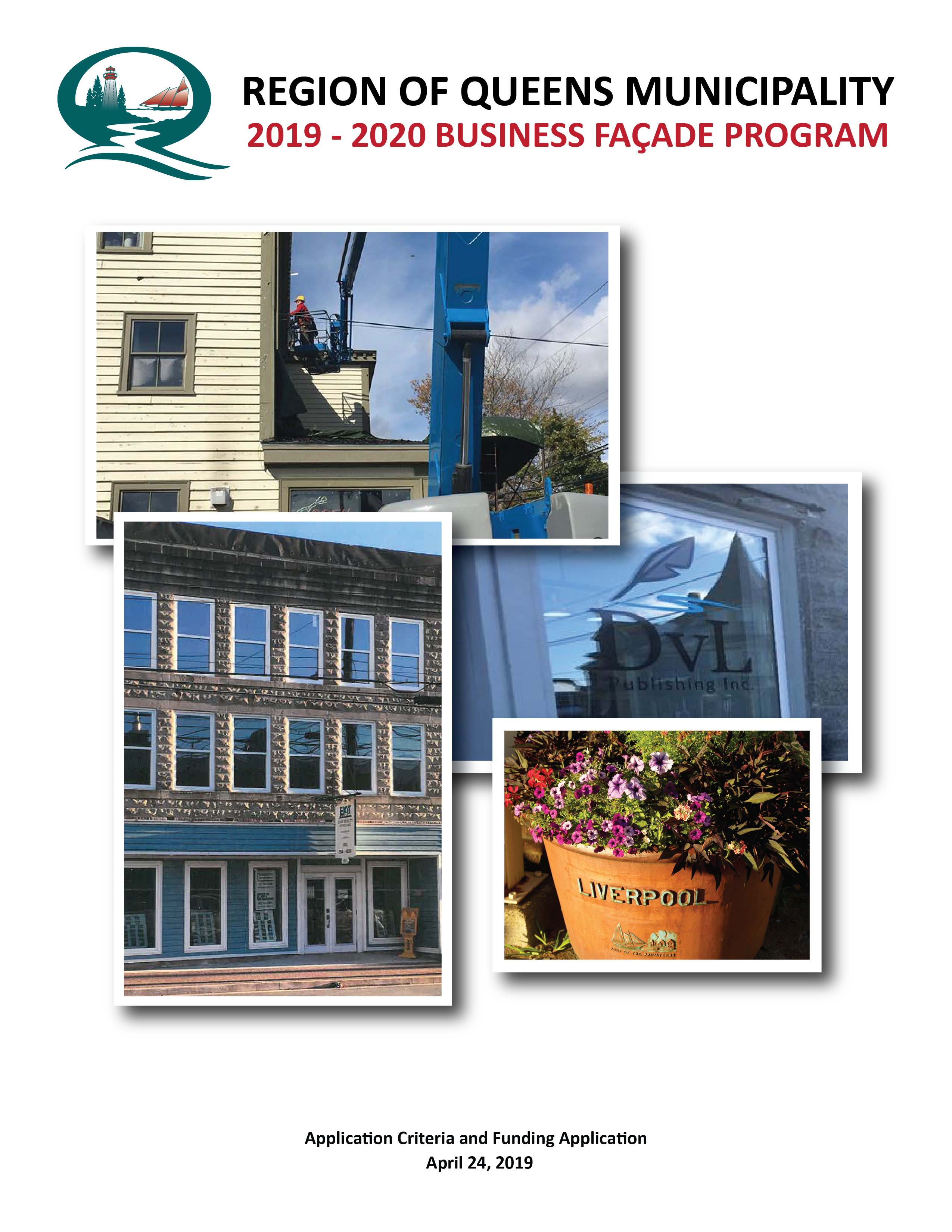 Business Facade Program Cover Page 2019 2020 01