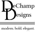 DeChamp Designs - Logo